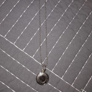 Coach sterling necklace